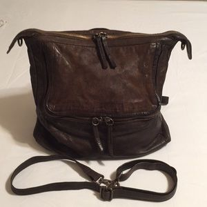 Free People loved leather backpack